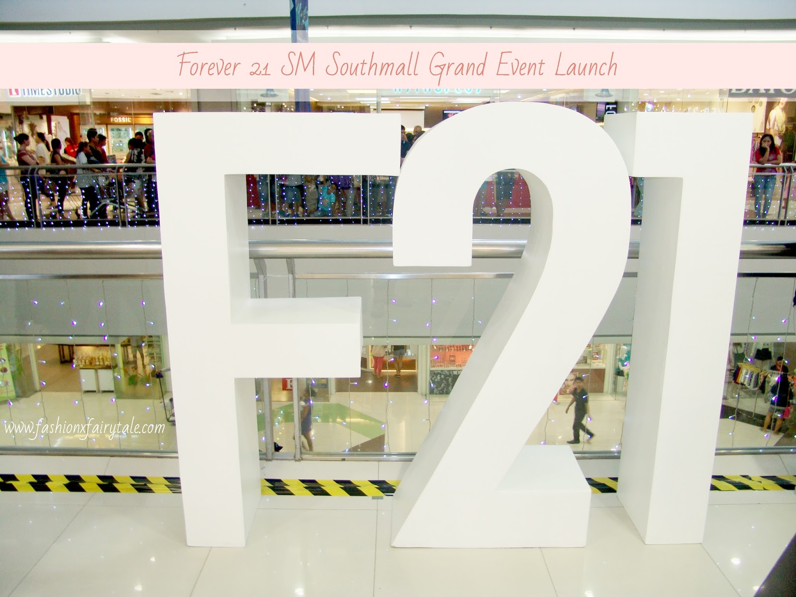 Forever 21 SM Southmall Grand Event Launch