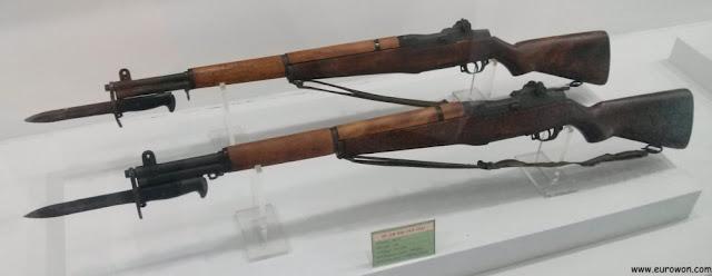 Fusiles usados en la Guerra de Corea por Estados Unidos