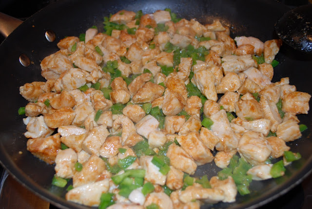 sauteed chicken and peppers