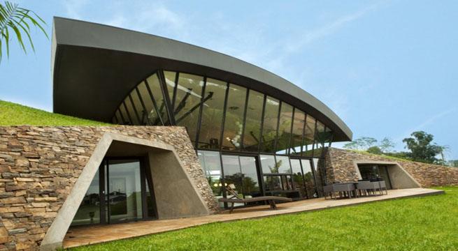 Dossier inmobiliario como ser n las casas del futuro for Casas modernas futuristas