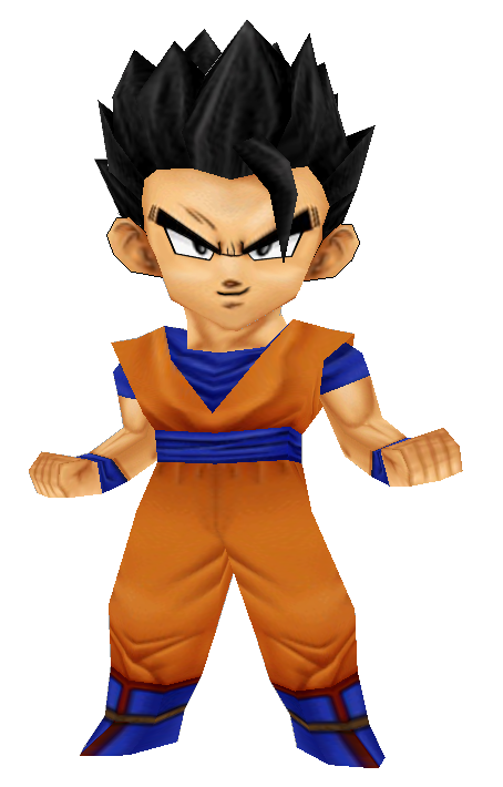 Gohan Ultimate Power Papercraft