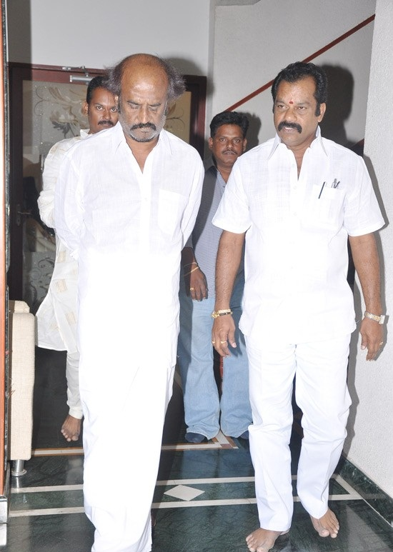 Rajinikanth Latest Photos At Kootanchoru Restaurant Private StillsPics event pictures