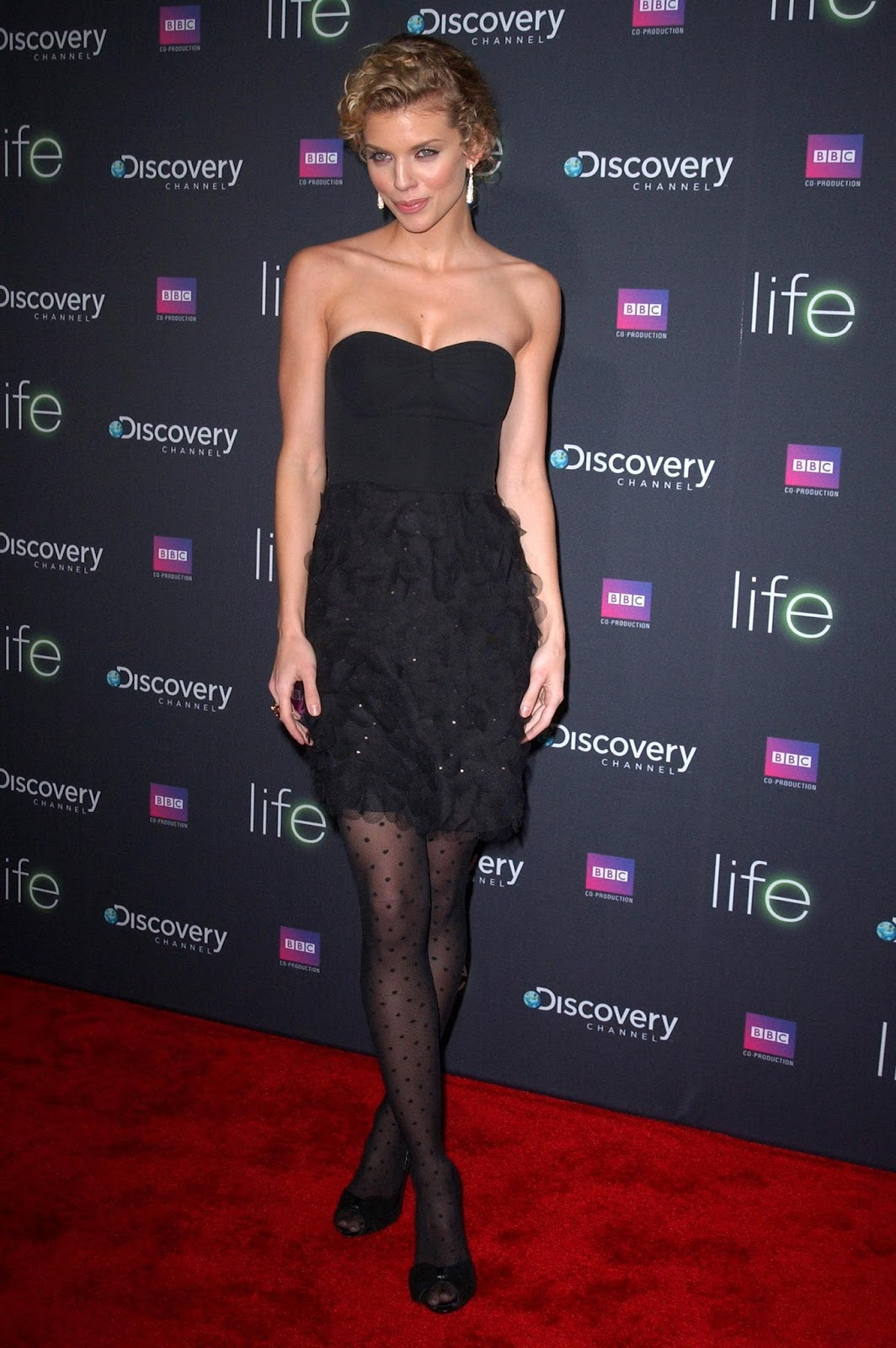 Forced annalynne mccord pantyhose remake