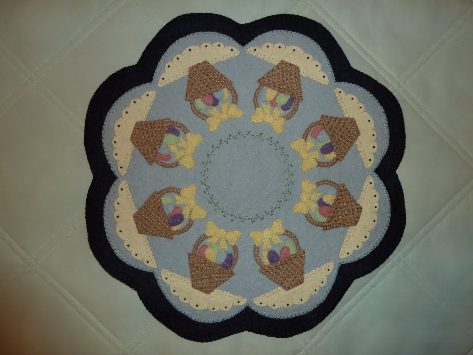 how to make a penny rug