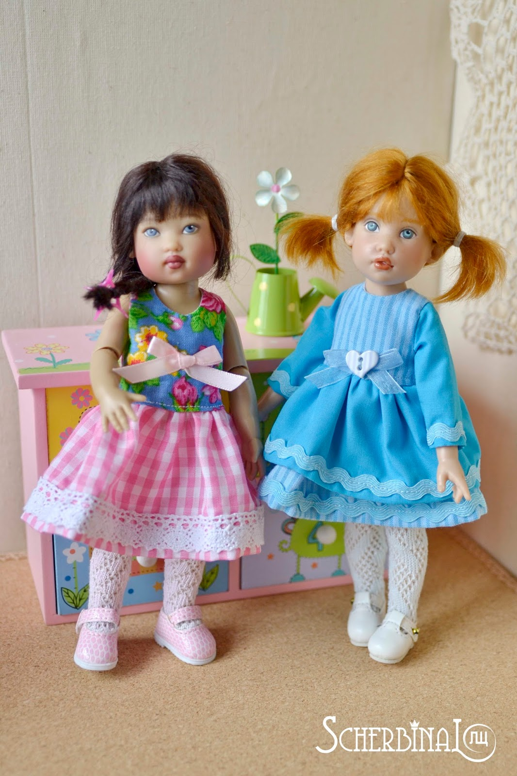 Коллекционные куклы Helen Kish: Tulah, Zsu Zse
