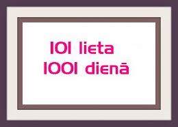 Mans 101 lietas saraksts- NR-2