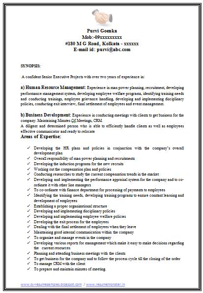hr professional resume hr professional resume