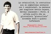 Giancarlo Siani, giornalista assassinato dalla camorra
