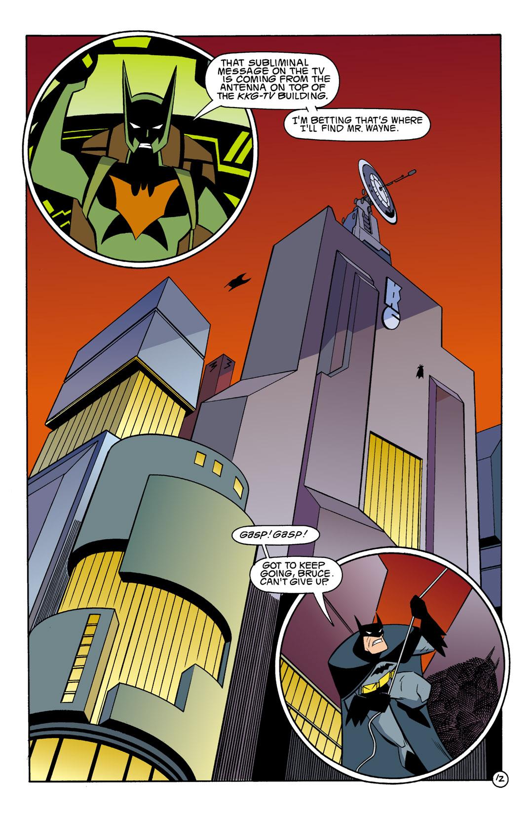 Batman Beyond [II] Issue #1 #1 - English 13