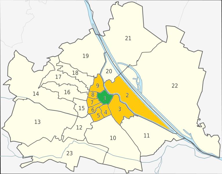 vienna city center map pdf