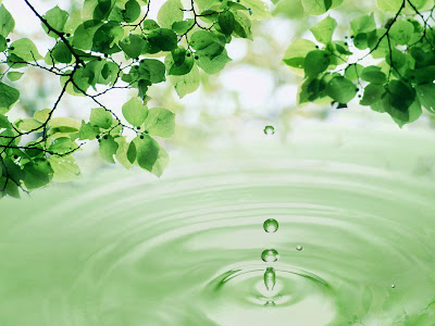 Water Drops computer