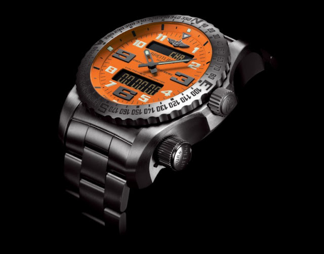 Breitling Emergency II (Breitling Emergency II Video | Breitling Emergency II Price $17,000) The Breitling Emergency II is a Swiss made luxury chronograph. Breitling Emergency II also features