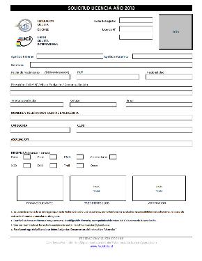 Licencia 2014