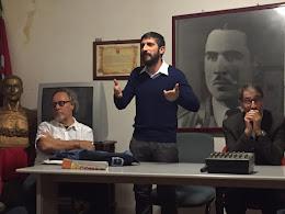 13 ottobre 2015 - Cosimo Lo Sciuto, 32 anni, è il nuovo segretario della Cgil di Corleone