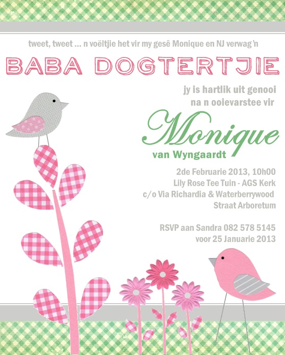 , birthday invitation card in afrikaans, invitation card in afrikaans, invitation card written in afrikaans, invitation samples