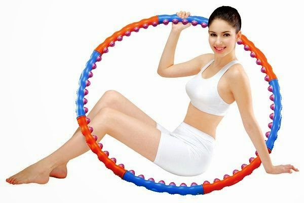 weighted fitness hula hoop
