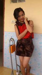 Srey Rath Kim Cute Wife On Facebook Sexy Red Dress Photo 5