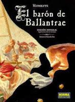 El barón de Ballantrae,R.L. Stevenson, Hipollyte,Norma Editorial  tienda de comics en México distrito federal, venta de comics en México df