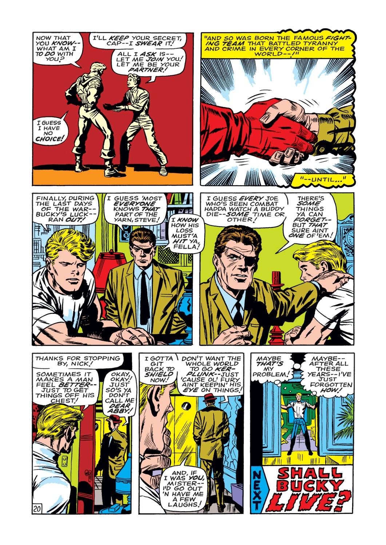 Captain America (1968) Issue #109 #23 - English 21