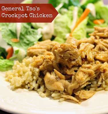 General Tso's Chicken is a quick healthy crockpot meal.