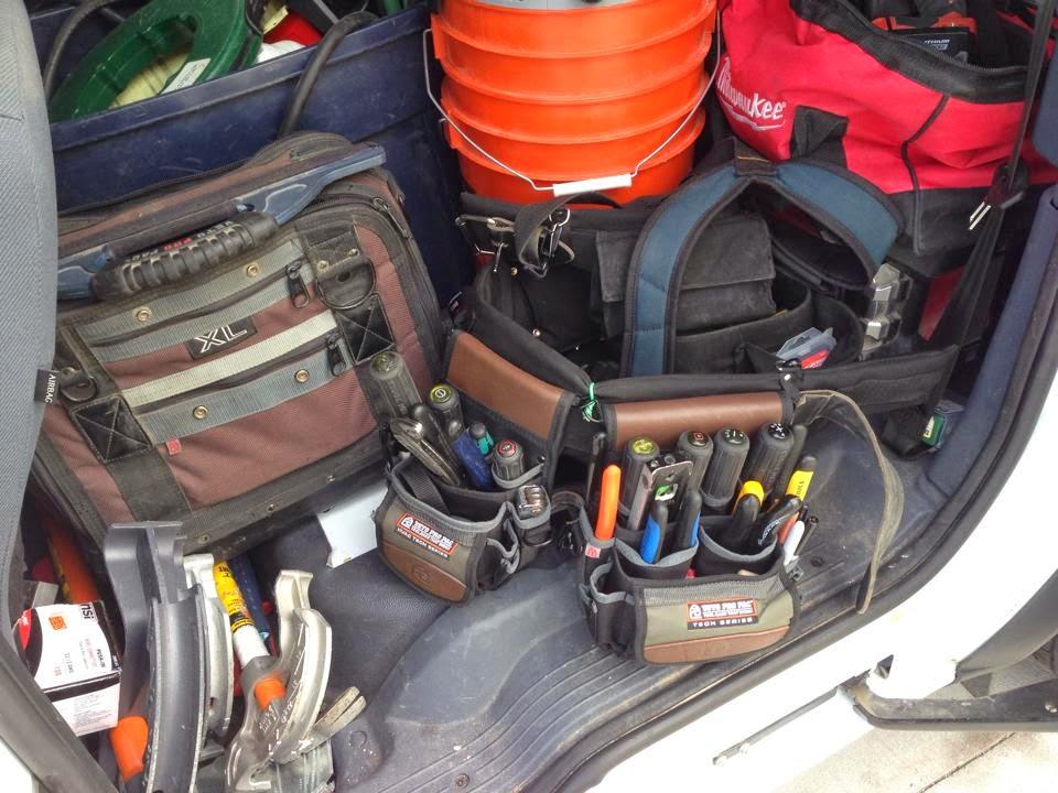 veto pro pac customer's modified tool belt | veto pro pac tool bag blog