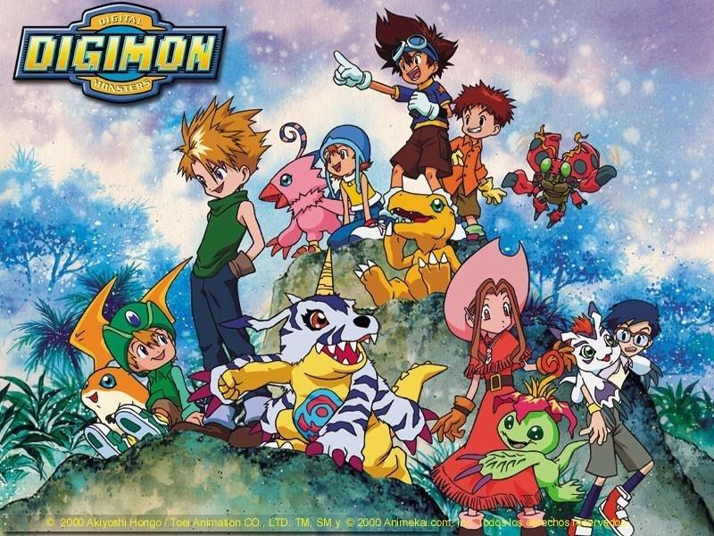 Digimon Temporada 1 Digimon15k