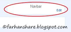 Cara Menghilangkan Navbar Blog Tebaru