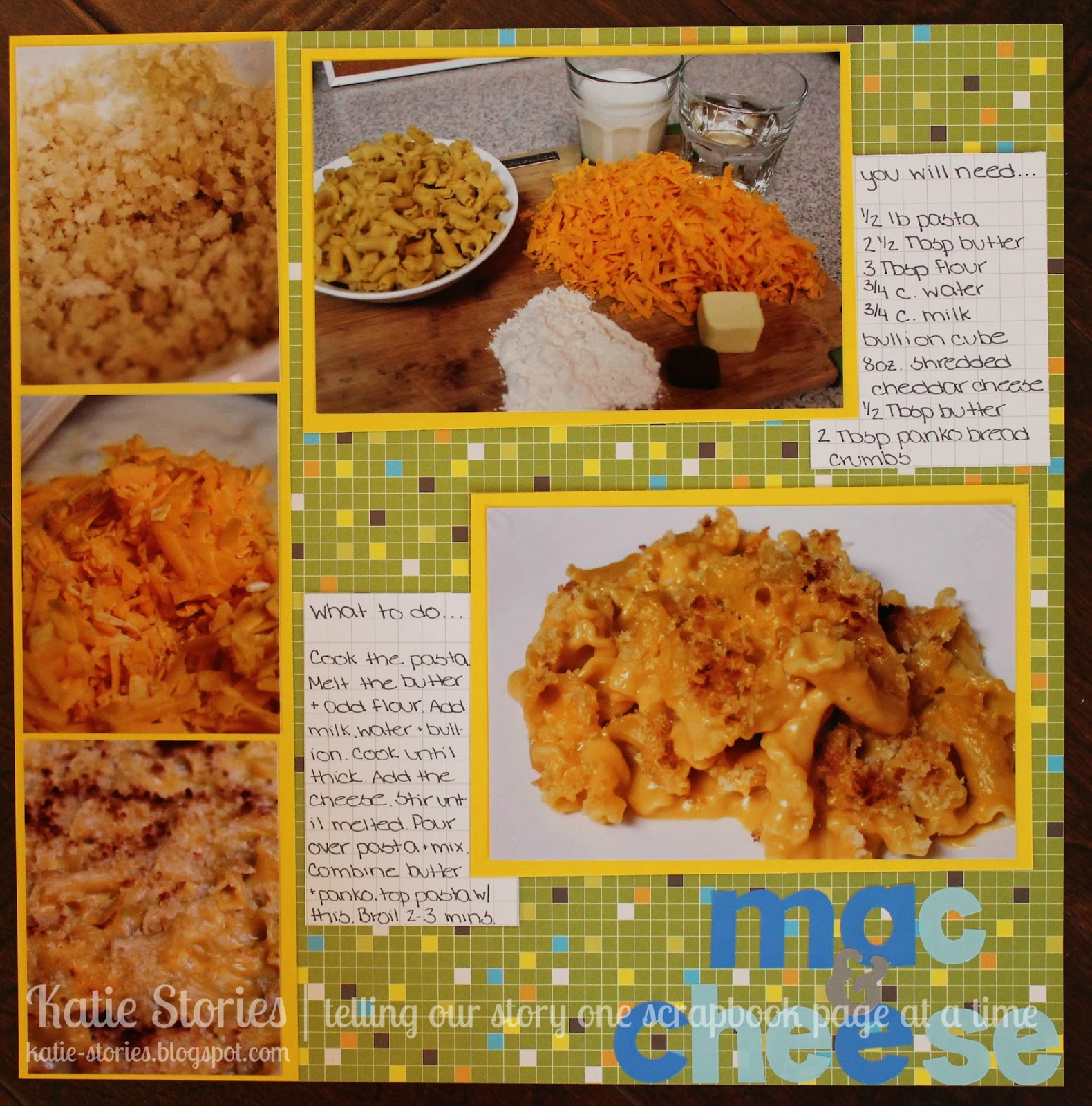 How to scrapbook on a mac - But Not Just Any Recipe My All Time Favorite Comfort Food Mac And Cheese It Is Seriously The Easy Recipe Ever And It Was A Really Easy Layout Too