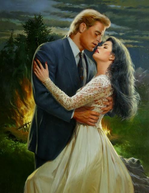 ed tadiello, cute couple,love painting