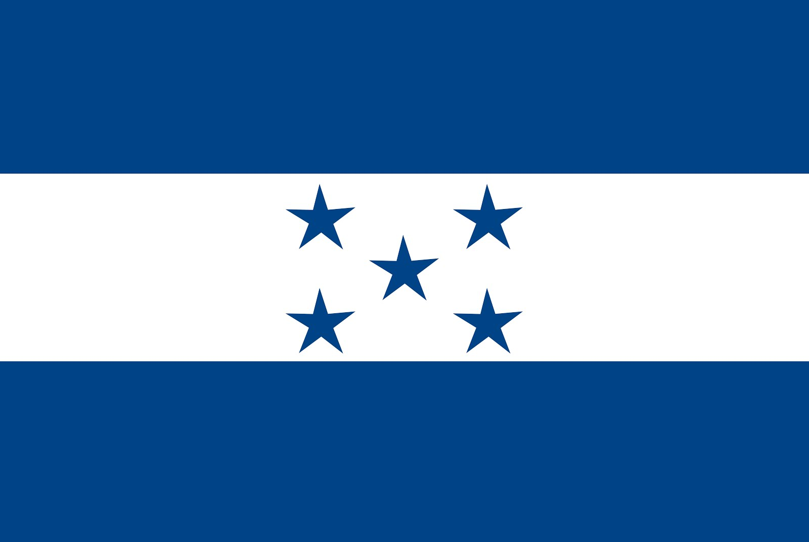 Honduras Country Flag
