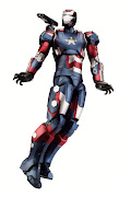 Hasbro Iron Man Marvel Legends 2013 Series 2Iron Patriot (Movie Version)