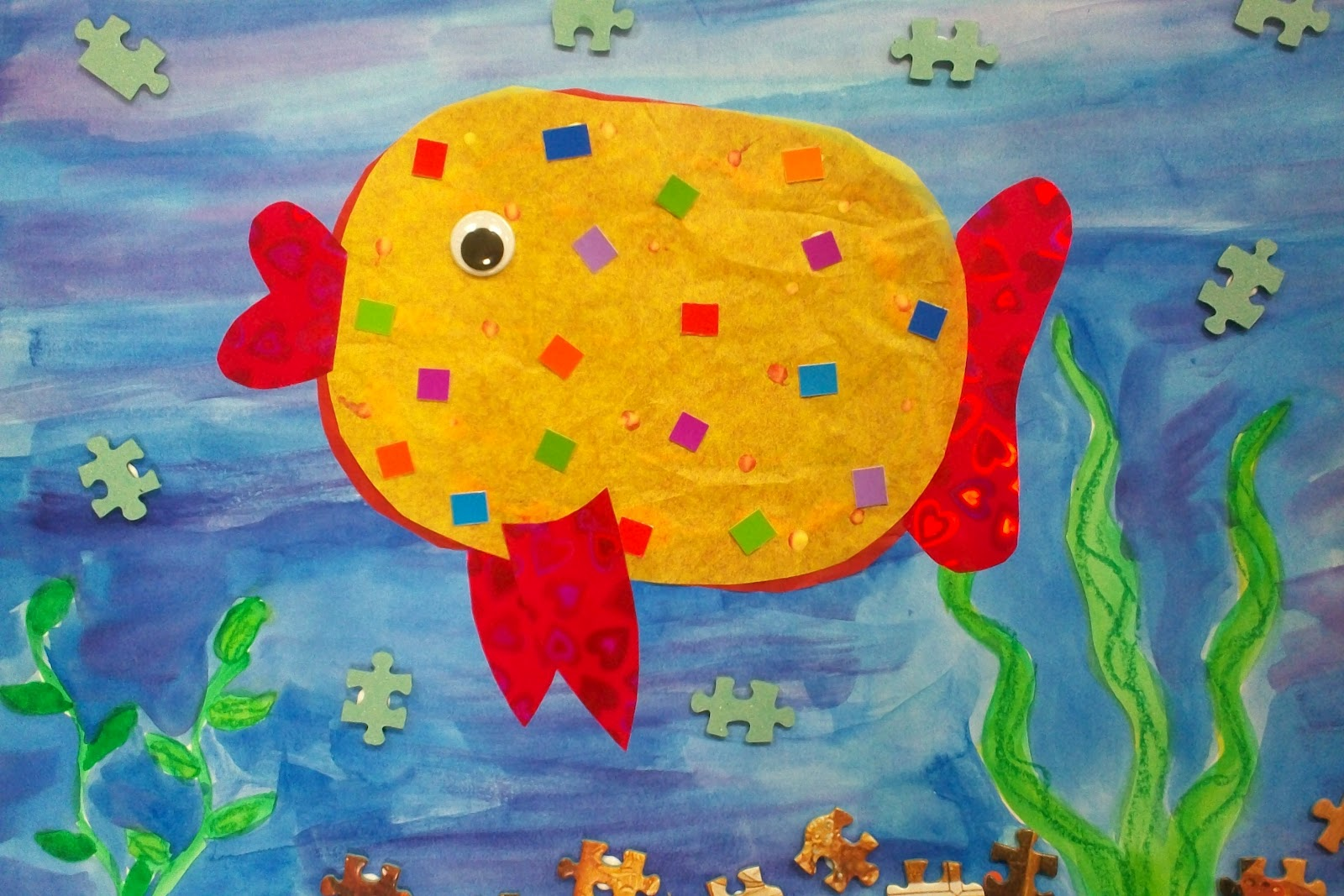 Art With Mr E Pd Day Projects The Pout Pout Fish