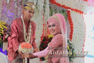 Pernikahan ALIFAH & ARRY - 5 & 6 September 2015, Foto oleh : Klikmg Fotografer Purwokerto