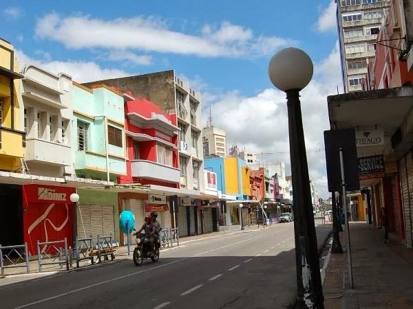 Ruas de Campina Grande