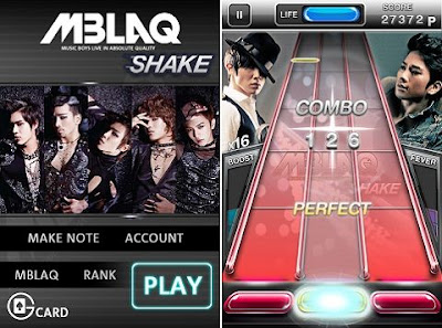 [NEWS] 120320 iTunes app store launches new game application, 'MBLAQ Shake' XXCTu