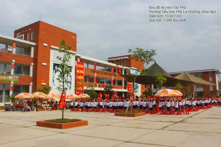 Trường tiểu học Văn Phú - Khu đô thị Văn Phú Hà Đông
