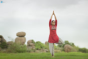 Singer Smita Yoga day photo shoot-thumbnail-2