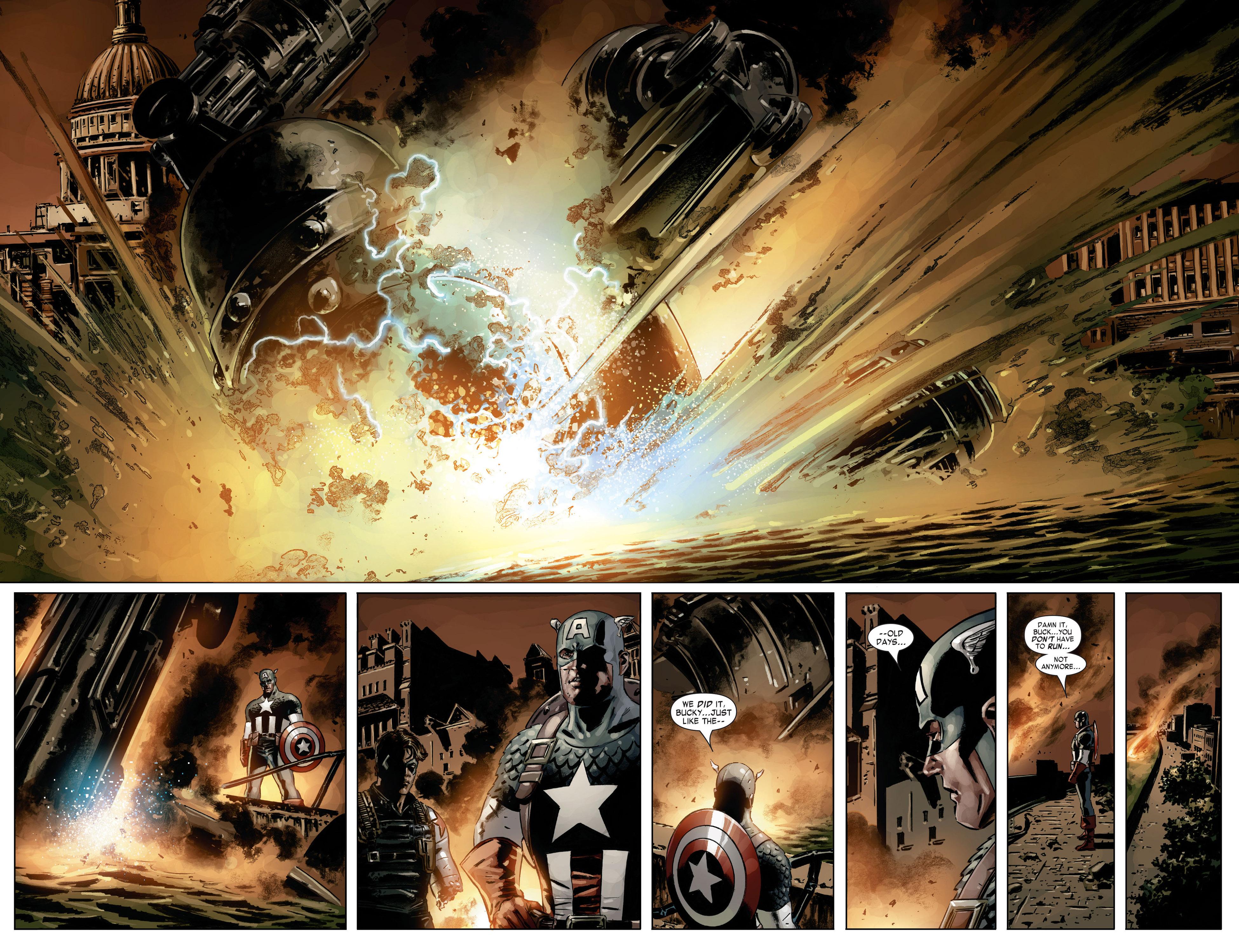Captain America (2005) Issue #21 #21 - English 17