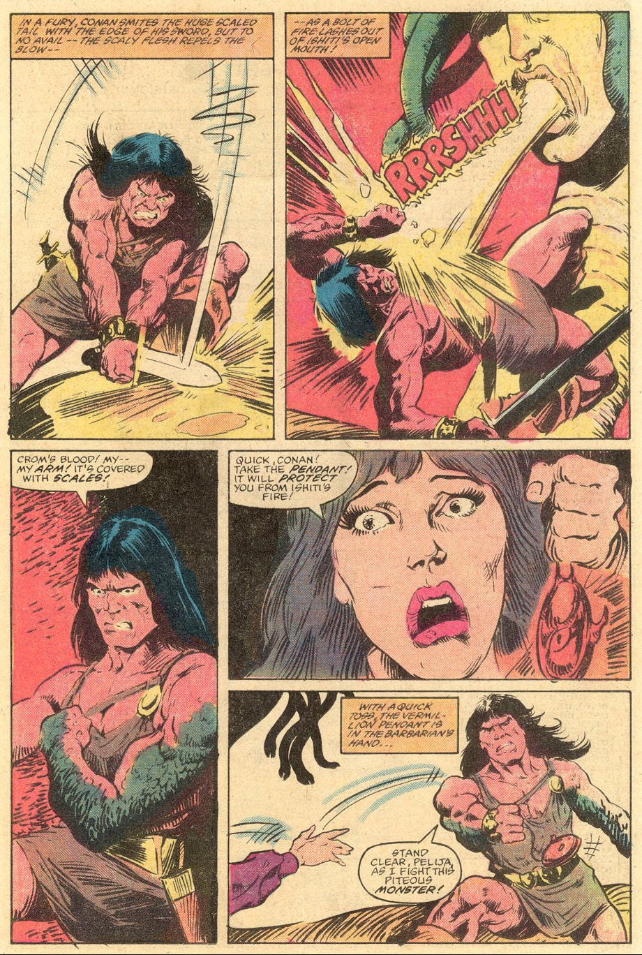 Conan the Barbarian (1970) Issue #139 #151 - English 14