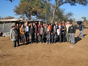 Misión de OPS en área rural de Pinto, Santiago del Estero