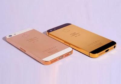 vỏ iphone 5 mạ vàng