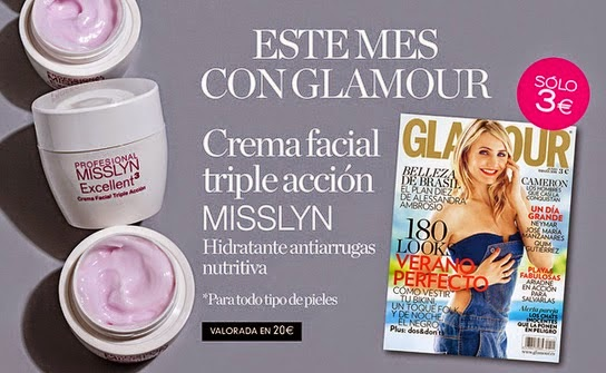 Regalos revistas Junio 2014: Glamour
