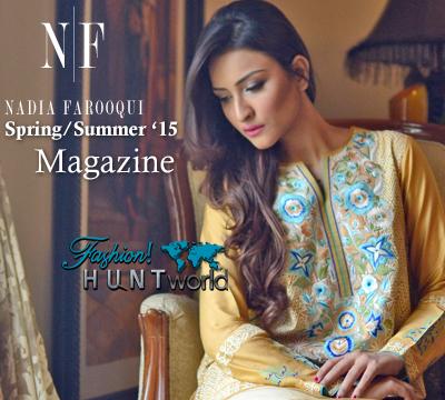 N|F Nadia Farooqui Spring/Summer 2015-2016 Magazine