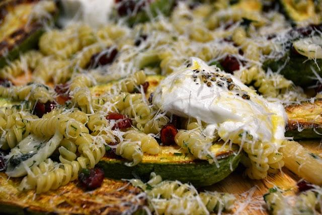 פסטה קישואים Zucchini pasta