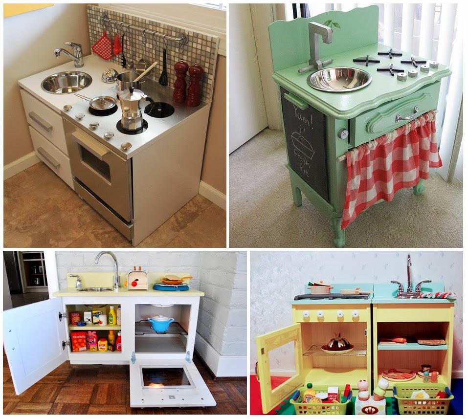 Volete realizzare anche voi la cucinetta per il vostro bimbo/a? Qui ...