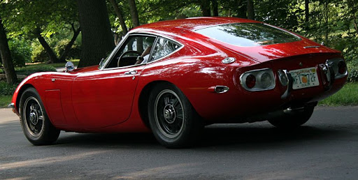 Sport Cars, Toyota 2000GT The First Japanese Supercar, Classic Sport