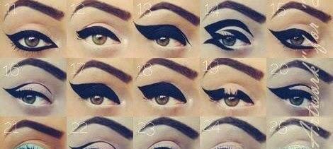 Eyeliner Tutorial Step