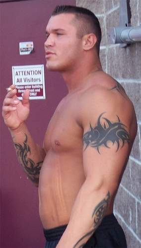 randy orton new tattoosrandy orton tattoos randy orton