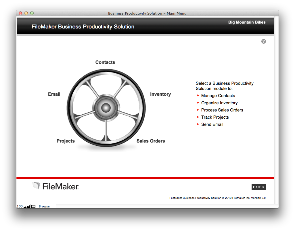 The mac office free filemaker solution business productivity kit aside from the templates built in filemaker pro that you can use for your business the filemaker trial site also lets you download several free solutions friedricerecipe Image collections