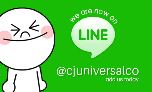 We're on LINE! Add us!